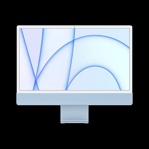 """Apple iMac 2021 24""""/M1-8-8/1TB/16/TID/Num/blau"""