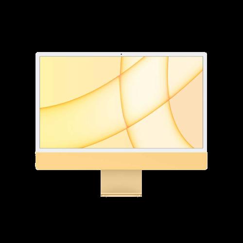 """Apple iMac 2021 24""""/M1-8-8/512/16/TID/Num/gelb"""