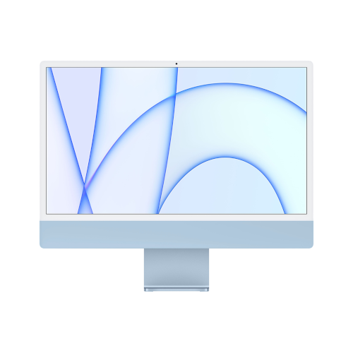 "Apple iMac 2021 24""/M1-8-7/256 GB/8/blau"