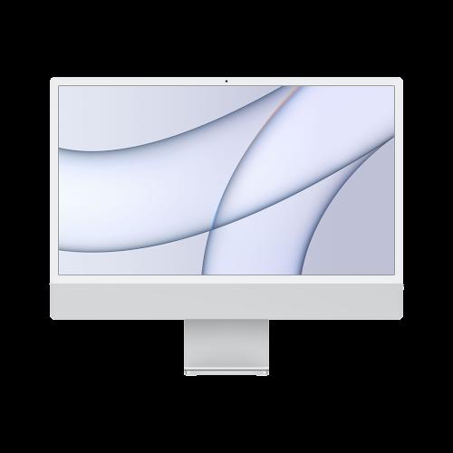 """Apple iMac 2021 24""""/M1-8-7/256/16/LAN/silber"""